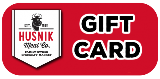 gift card - Husnik Meat Company South St Paul